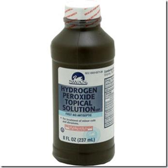 Hydrogen Peroxyde bottle