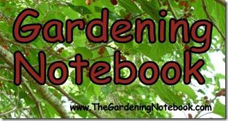 TheGardeningNotebook Logo